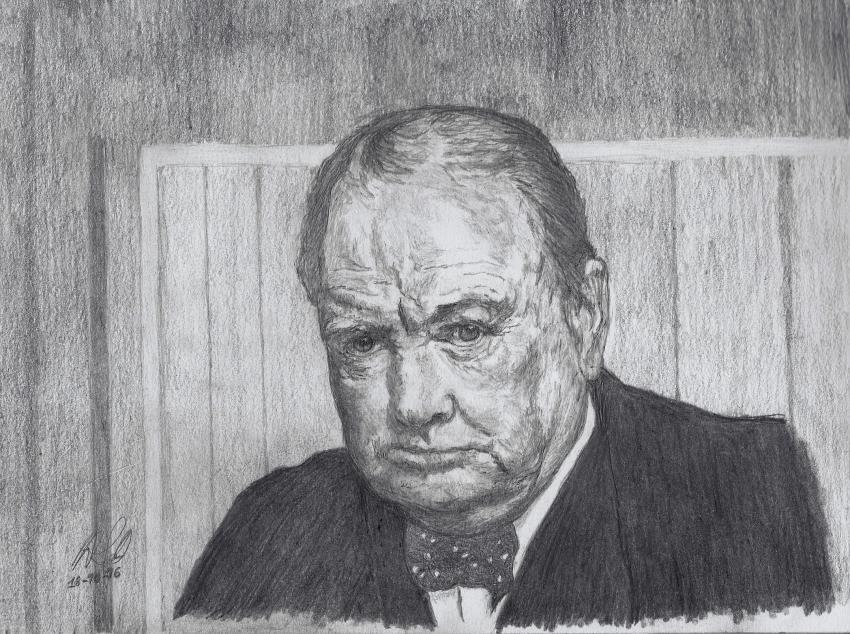 Winston Churchill por ABO